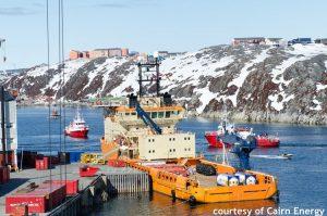 Vessel in Greenland