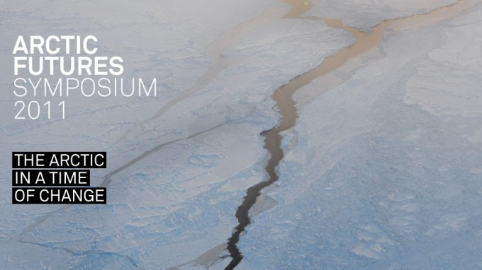 Banner of Arctic Futures Symposium 2011