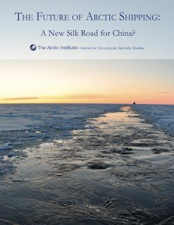 Front page of The Future of Arctic Shipping report