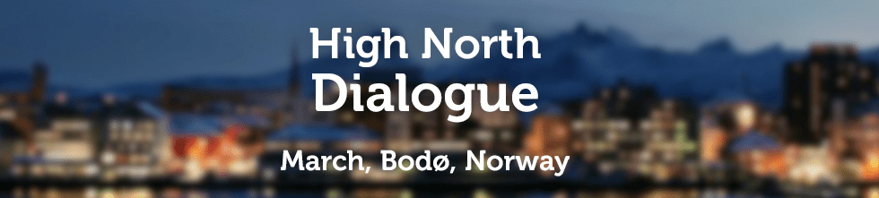 Banner for High North Dialogue
