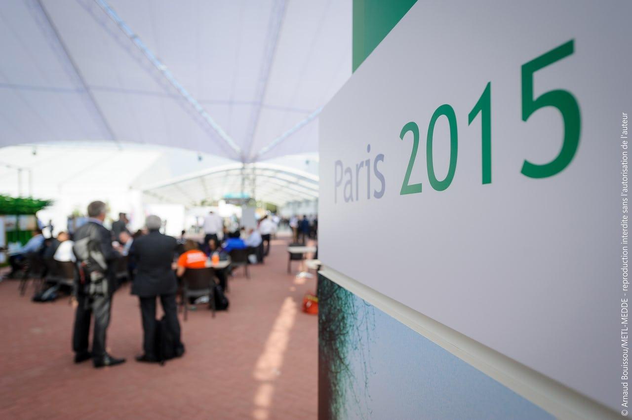Sign at COP21