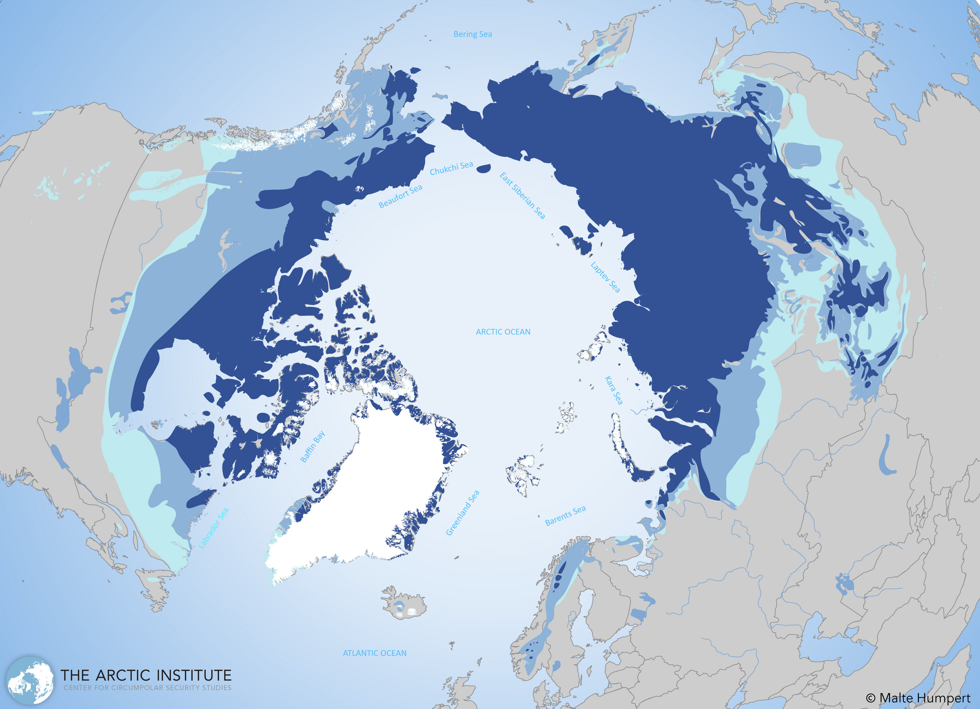 Arctic Maps Visualizing The Arctic The Arctic Institute - Arctic map