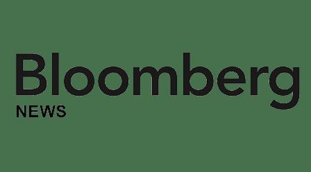 Logo of Bloomberg