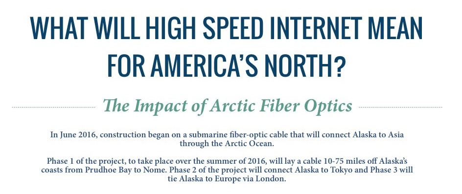 High-Speed Internet for America's North - Infographic | The Arctic
