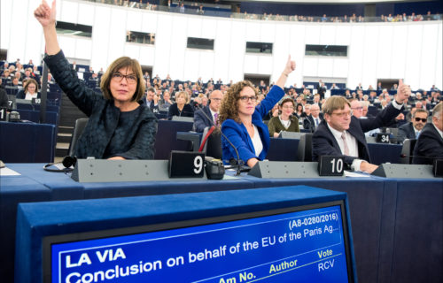 The European Parliament does not drop the Arctic