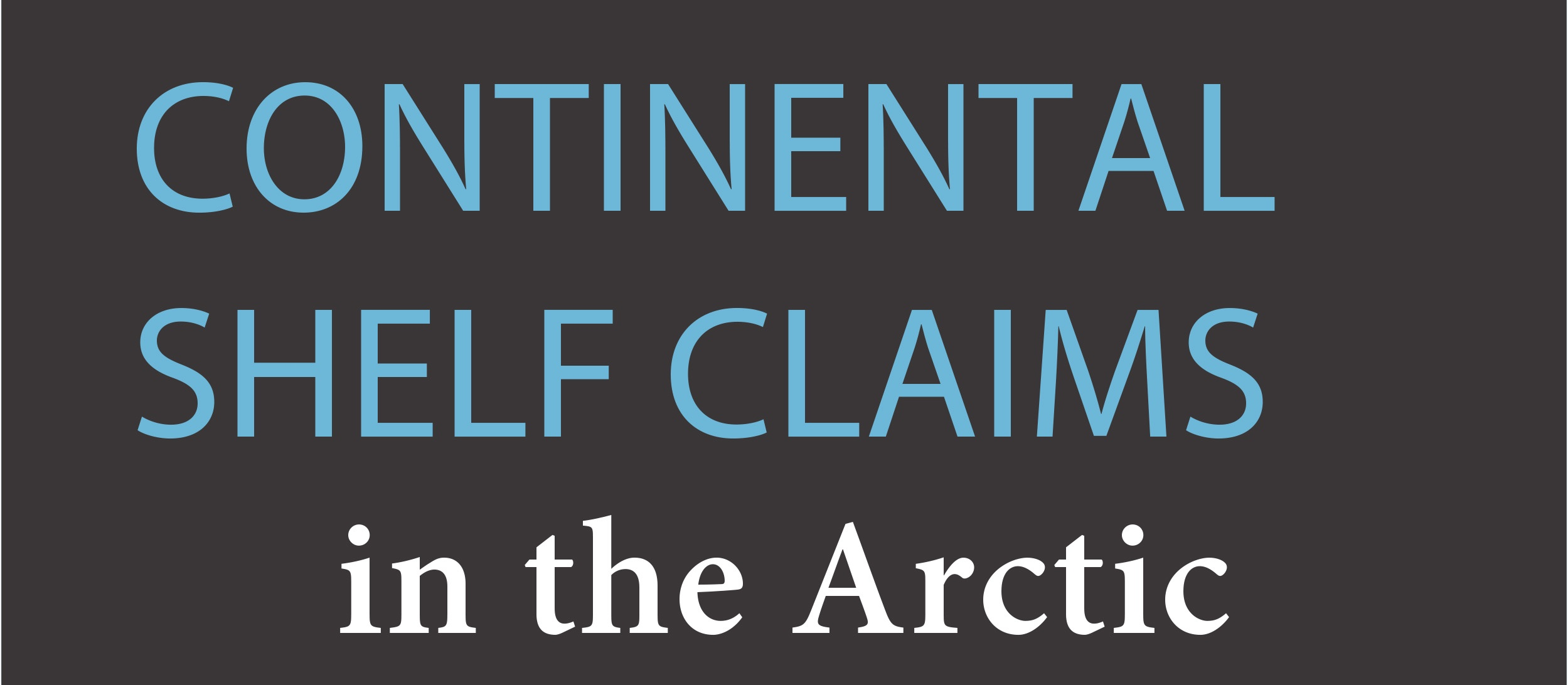 Infographic header on continental shelf claims in the Arctic