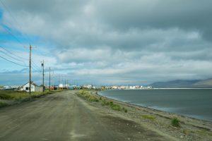 The view of Teller, Alaska