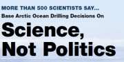 """A """"Science-Based Policy"""" on Arctic Ocean Oil Drilling in the United States"""